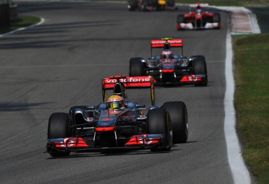 Hamilton non è soddisfatto del quarto posto a Monza