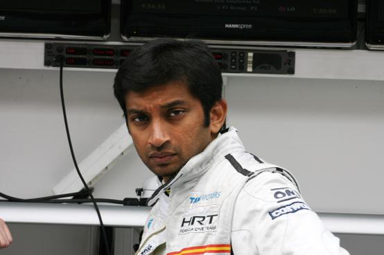 HRT, Narain Karthikeyan correrà il GP India
