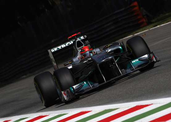 """Schumacher: """"Io e Lewis siamo noti per guidare al limite e questo è quello che abbiamo fatto oggi"""""""