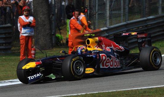 """Red Bull, Webber: """"Ormai la lotta è solo per la seconda posizione in classifica piloti"""""""
