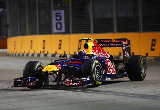 GP Singapore, Prove Libere 3: Webber al comando con la Red Bull