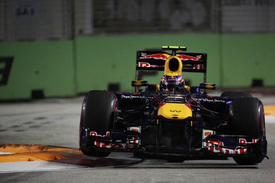 """Webber: """"Contento della prima fila a Singapore"""""""