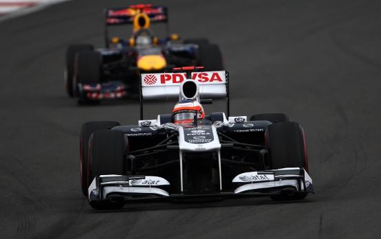 """Williams, Barrichello: """"Abbiamo avuto un buon ritmo oggi, peccato aver mancato la zona punti"""""""