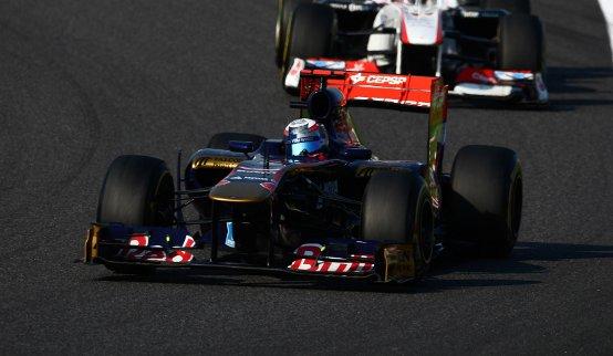 Toro Rosso: Sebastien Buemi costretto al ritiro in Giappone per un errore al pitstop
