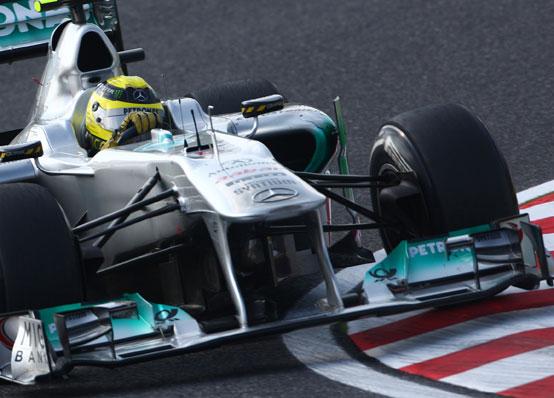 Mercedes, un'ala anteriore con F-duct nel 2012 in Formula 1?