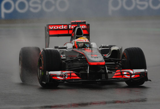 GP Corea, Prove Libere 2: Hamilton precede Button