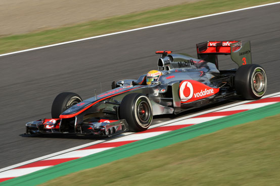 GP Corea, Hamilton in pole position