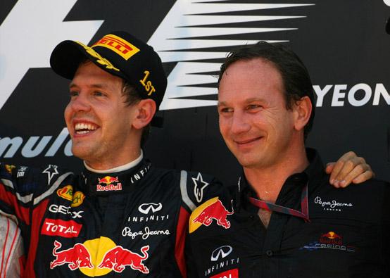 """Red Bull, Horner: """"Non sarà più facile vincere nel 2012"""""""