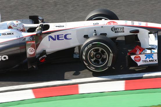 GP Giappone, Kobayashi partirà settimo