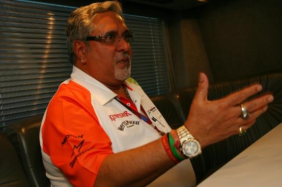 """Force India, Vijay Mallya: """"E' l'inizio di una grande tradizione per la Formula 1 in India"""""""