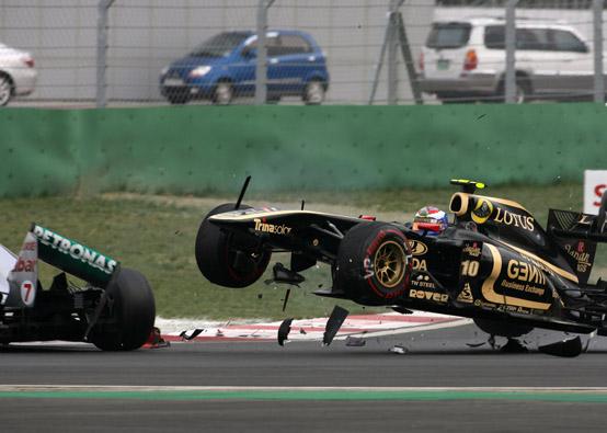 Vitaly Petrov sarà penalizzato di cinque posizioni nel Gran Premio d'India