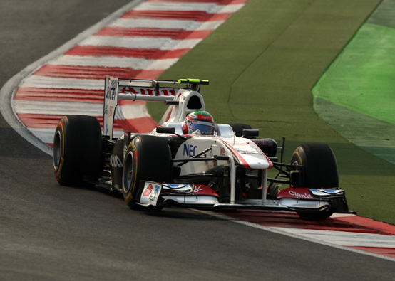 Sauber: un decimo posto per Perez e un ritiro per Kobayashi