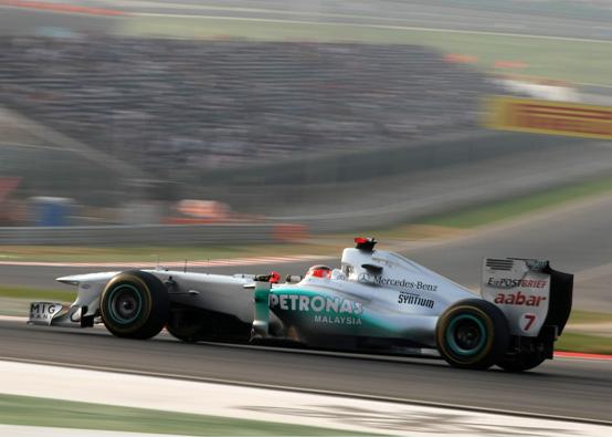 """Schumacher: """"Sono molto contento della mia gara ed abbiamo ottenuto il massimo come squadra"""""""
