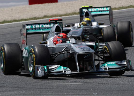 Entrambi i piloti della Mercedes GP sono contenti dei nuovi tecnici nel team