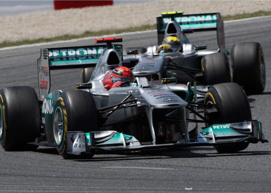 Entrambi i piloti della Mercedes GP sono curiosi di provare il nuovo tracciato in India