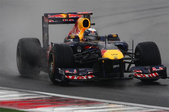 Vettel ammette che la situazione gomme è preoccupante in Corea