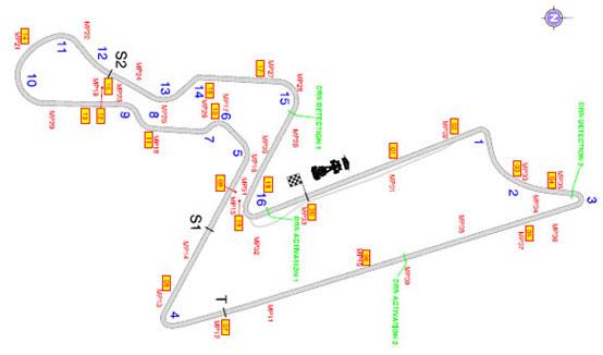GP India, la FIA conferma le due zone DRS