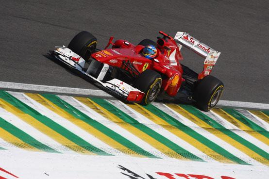 Ferrari, una qualifica senza sorprese ad Interlagos: Alonso quinto, Massa settimo