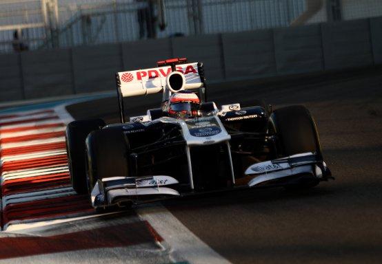 Williams: Il commento di Barrichello e Maldonado dopo le prove libere di Abu Dhabi