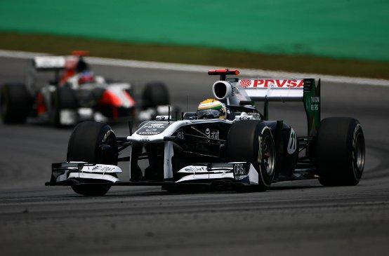 """Williams, Barrichello: """"Mi sento alla grande!"""""""