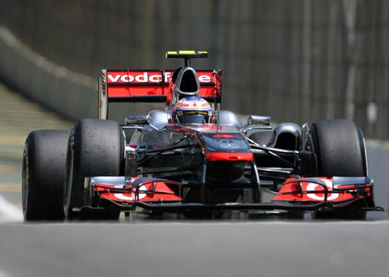 Button soddisfatto della strategia adottata nel Gran Premio del Brasile