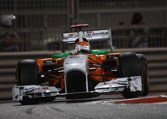 Force India: Sutil e Di Resta nella Top Ten ad Abu Dhabi