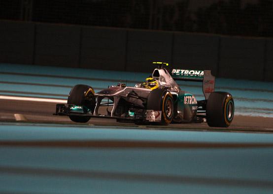 Mercedes GP: Rosberg sesto, Schumacher settimo