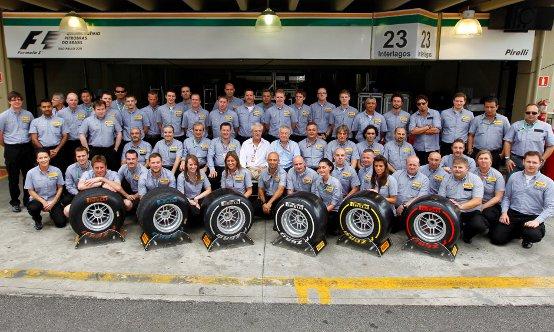 Pirelli conclude la sua prima stagione di grande successo nel Gran Premio del Brasile