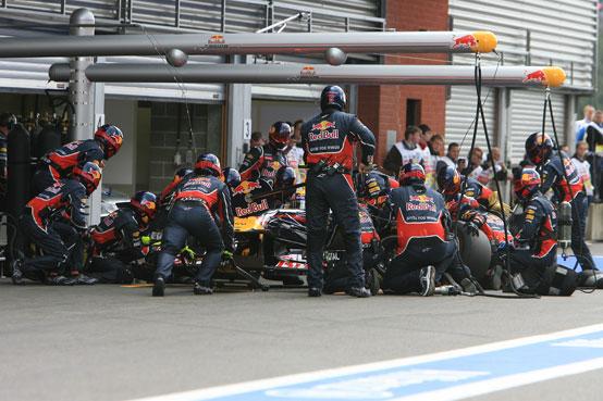 La Red Bull ha i meccanici più veloci in Formula 1