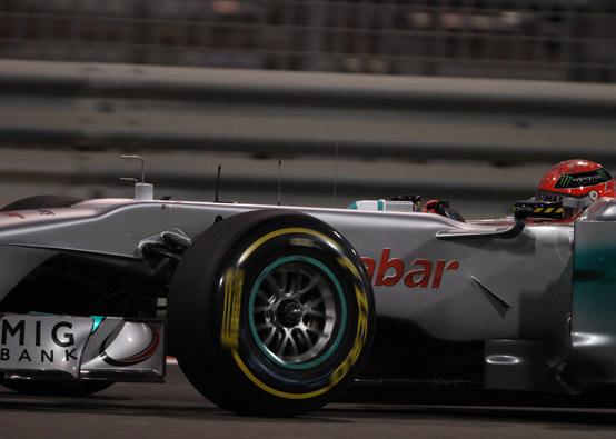 """Mercedes GP, Schumacher: """"E' stata una qualifica normale, non potevamo fare di più"""""""