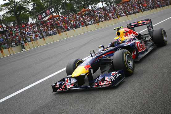 GP Brasile: Webber vince l'ultima gara della stagione