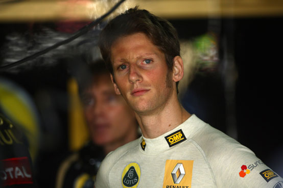 Lotus Renault: Grosjean spera di affiancare Raikkonen nel 2012