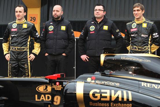 Boullier non è sicuro del futuro di Kubica in Lotus