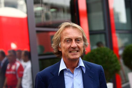 """Montezemolo: """"Voglio una Ferrari da prima fila"""""""