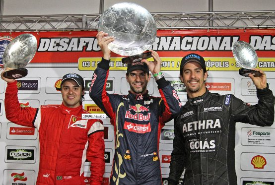 International Challenge of Go-Kart Champs: Vittoria per Alguersuari