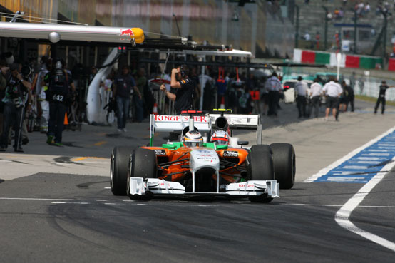 Hulkenberg ha un contratto annuale con la Force India