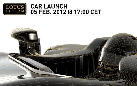 Lotus F1 Team: La presentazione della nuova monoposto il 5 febbraio