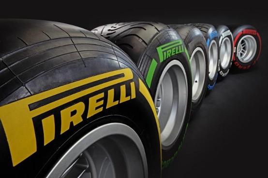 Gli pneumatici Pirelli Formula 1 per il 2012