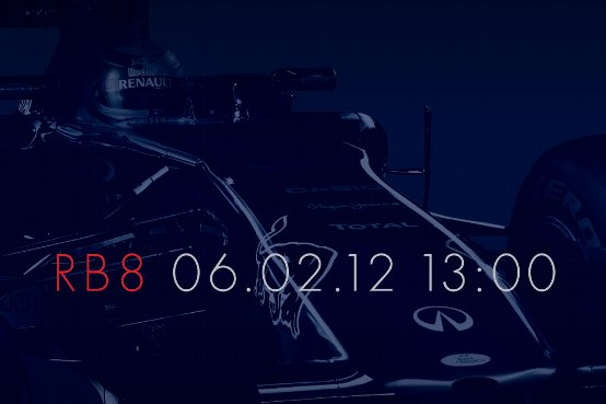 Red Bull: il lancio della nuova RB8 on line il 6 febbraio 2012
