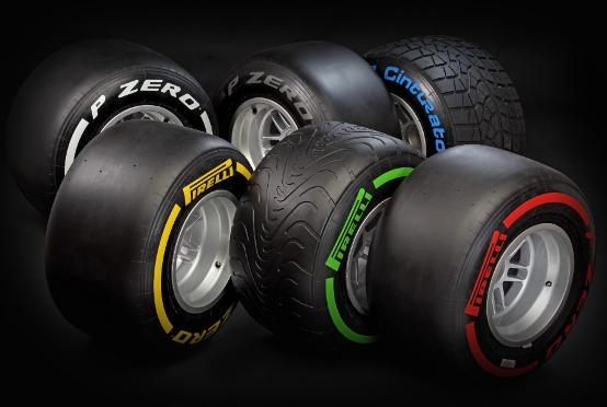 F1: Regolamento FIA su opzioni e impiego degli pneumatici Pirelli