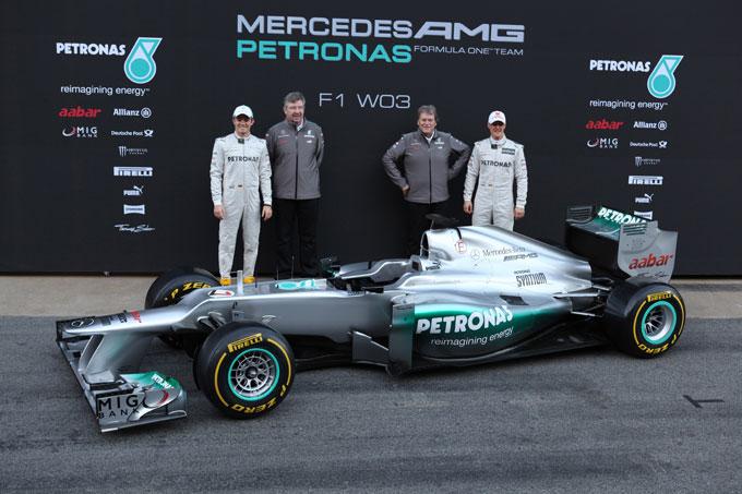 La Mercedes non si aspetta di lottare per i titoli prima del 2014
