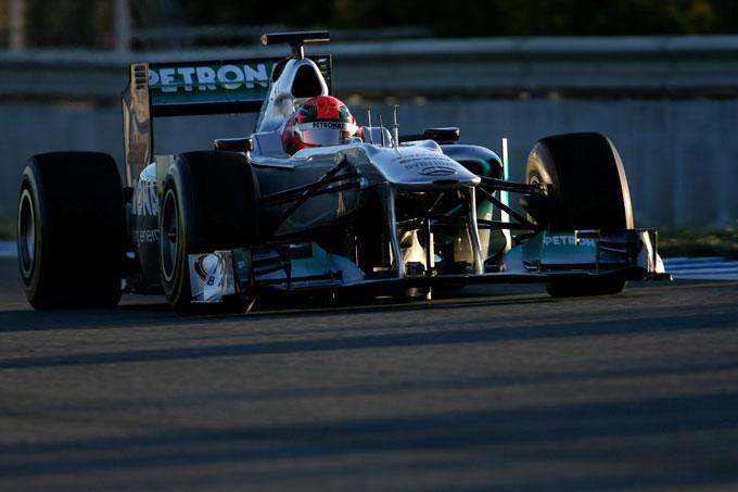 Test F1 2012 a Jerez Giorno 2