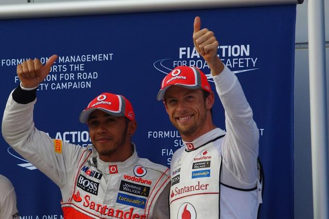 """McLaren, Button: """"Siamo fiduciosi ma domenica sarà dura"""""""