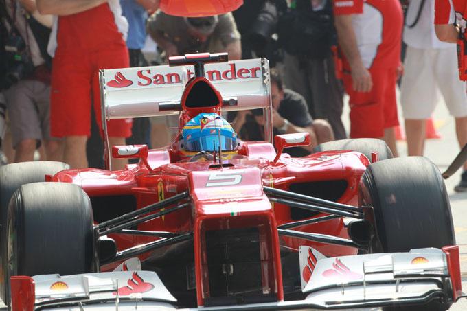 La Ferrari potrebbe abbandonare la sospensione pull-rod
