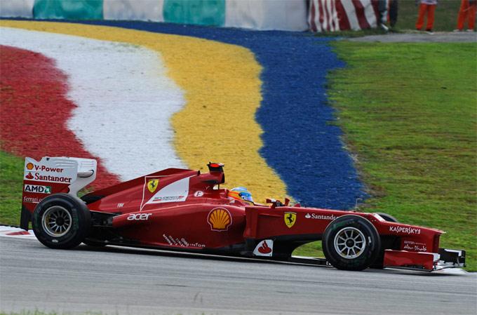 Ferrari, bicchiere mezzo pieno nelle qualifiche di Sepang