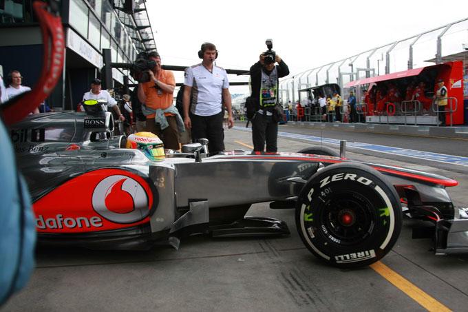 GP Australia, Prove Libere 3: Hamilton davanti a tutti