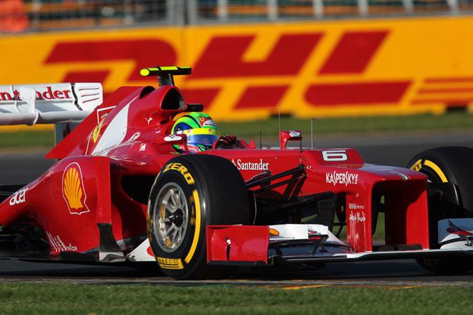 Ferrari, un nuovo telaio per Felipe Massa in Malesia