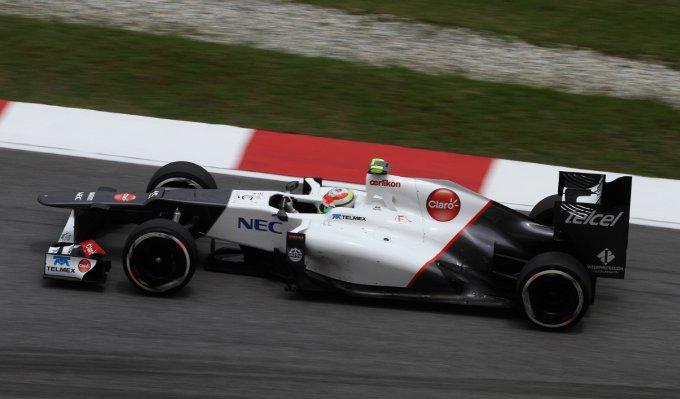 """Sauber, Perez: """"Sono felice per la Q3 e in gara possiamo essere piu' competitivi"""""""
