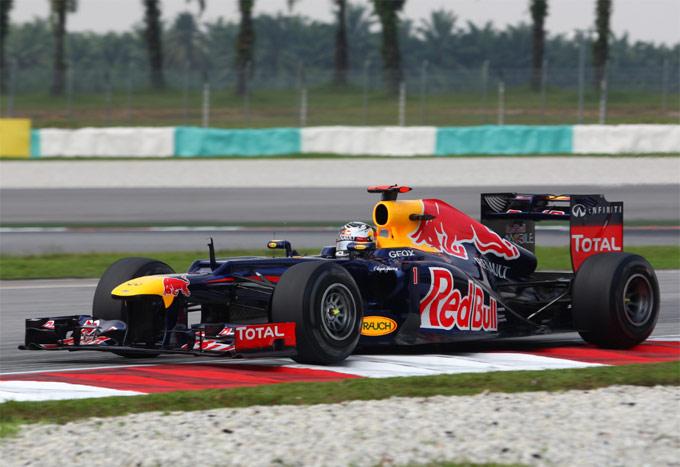 """Vettel: """"Red Bull più vicina sul passo di gara in Malesia"""""""