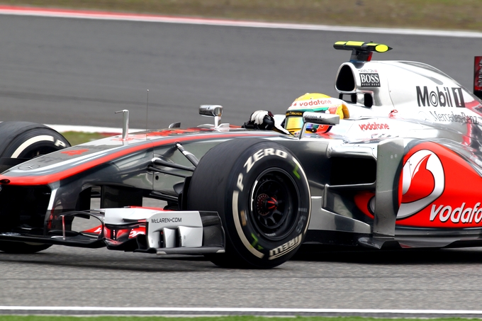 """Hamilton: """"Sono felice alla McLaren"""""""